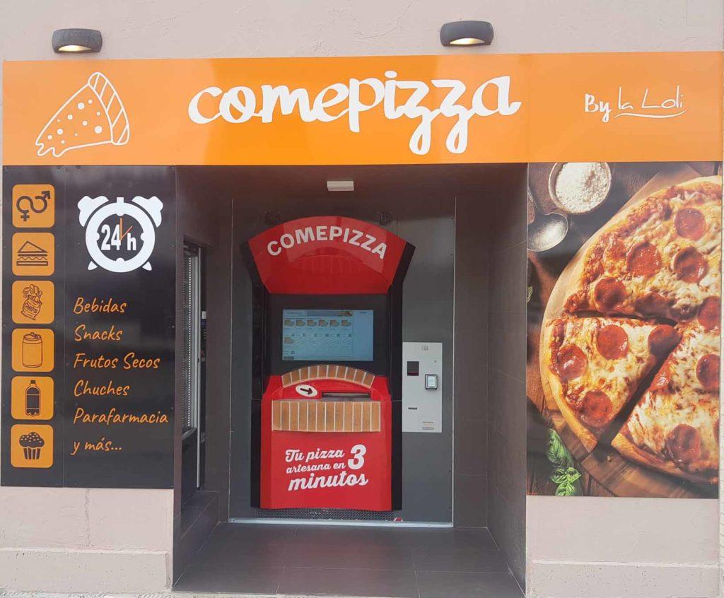 Pizzería-Comepizza